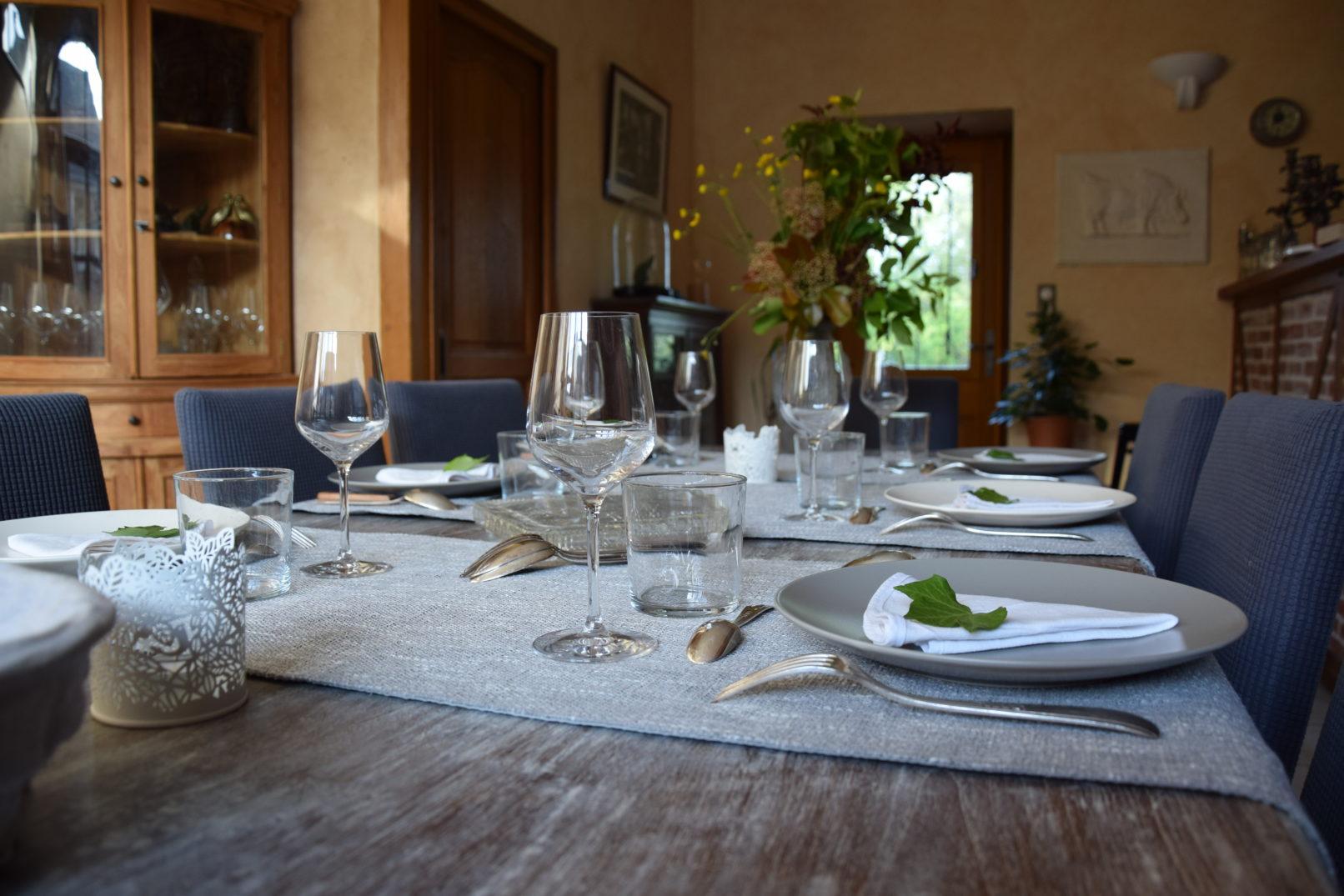 Décors de table de salle à manger