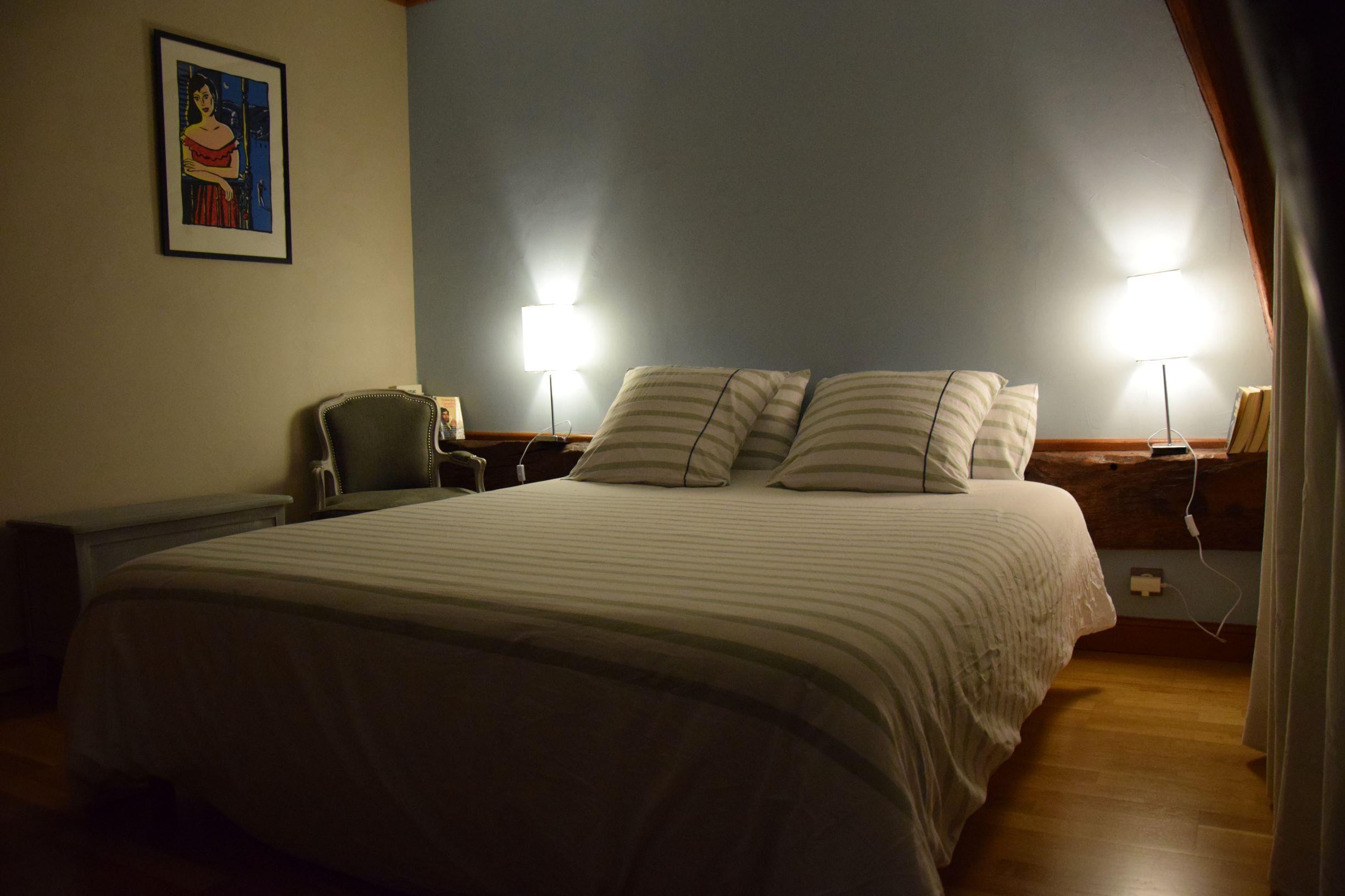 Lit double chambre Loustal